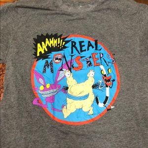Nickelodeon real monsters size medium shirt used